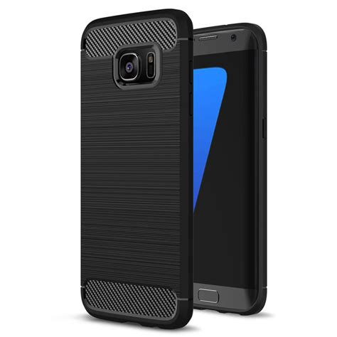 Slim Carbon Samsung S7 Edge by Husa Samsung Galaxy S7 Edge G935 Slim Armour Carbon Neagra