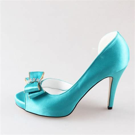 Turquoise Wedding Shoes by 1000 Ideas About Turquoise Wedding Shoes On