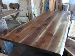Reclaimed Walnut Dining Table » Home Design