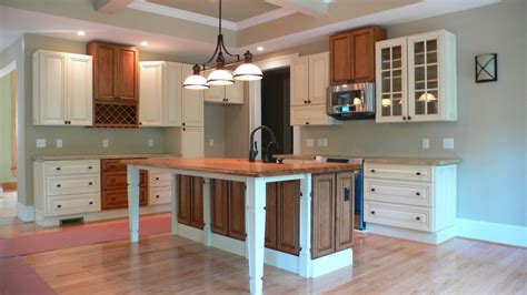 Kitchens With Maple Cabinets by The Details In A Brand New Home Mission Style Island