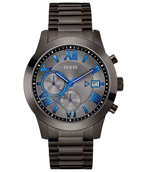 Jam Tangan Guess Collection Chronograph Quality Premium guess atlas w0668g2 s buy guess atlas w0668g2 s at best prices in