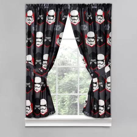 star wars curtains and bedding star wars episode 7 boy s bedroom curtain panels set of 2