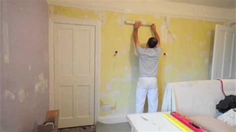 How To Make Wall Paper Paste - hanging wallpaper paste the wall