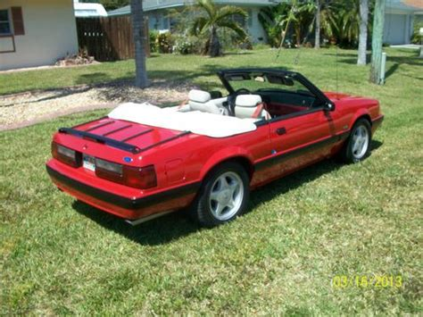 1990 mustang dash buy used 1990 mustang conv 5 0 auto 25th anniversary