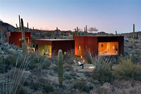 home in arizona the desert nomad house