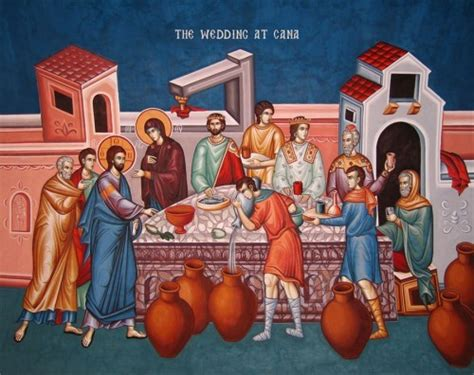 Wedding At Cana Notes by The Savior Holy Spirit Orthodox Church V Rev