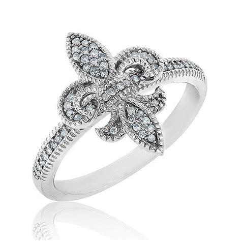 fleur de lis engagement ring fleur de lis