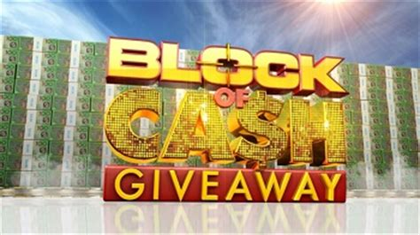 Channel 9 Today Show Cash Giveaway - today block of cash giveaway win 10 000 to 200 000