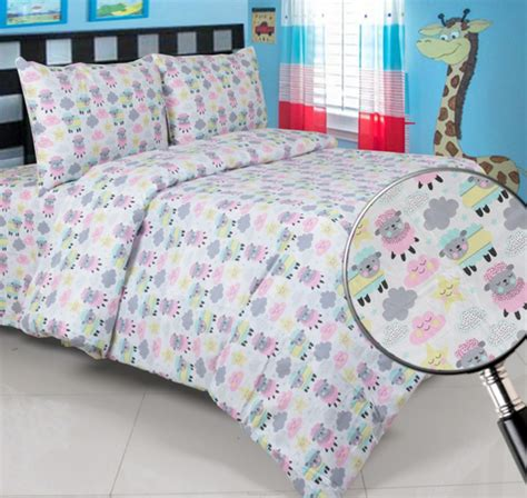 Sprei Anak Karakter Sheep Uk180x200x20 sprei panca sheep pink warungsprei