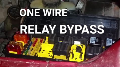 bypass  relay   wire youtube