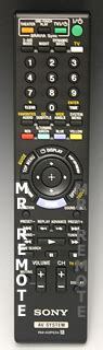sony rm adp034 home theater remote