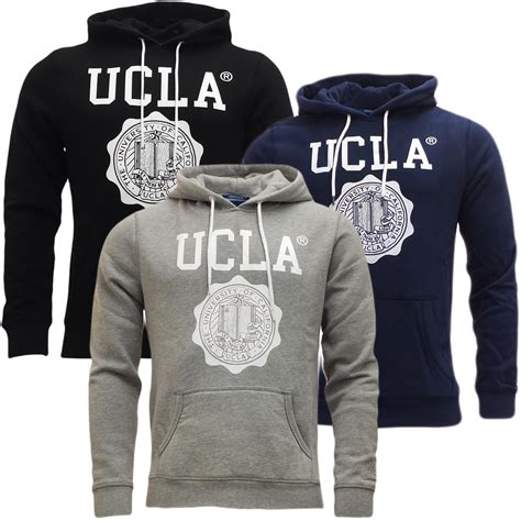 Hoodie Jumper Polos S M L ucla mens hoodie sweatshirt hooded jumper soft cotton s m