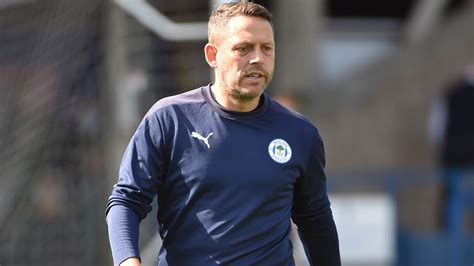 wigan athletic fc latics assistant manager leam