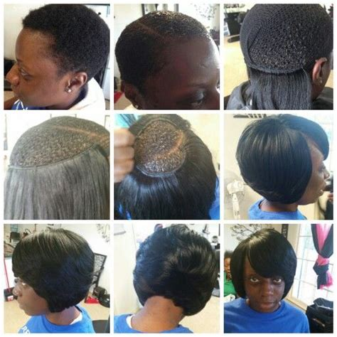partial sew ins on short hair partial sew in weave short hairstyles hairstyles