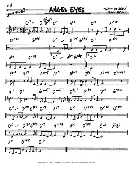theme song in angel eyes download angel eyes sheet music by frank sinatra sheet