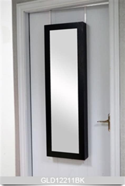 Montagem na parede jóias armário pendurado sobre a porta