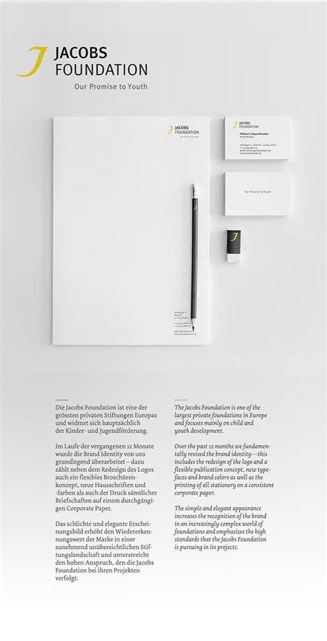 Credit Suisse Letterhead Foundation Brand Identity On Pantone Canvas Gallery