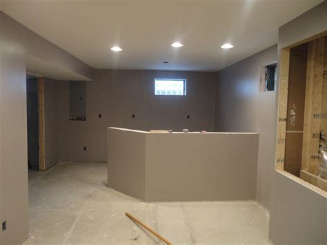 after i do basement renovation paint