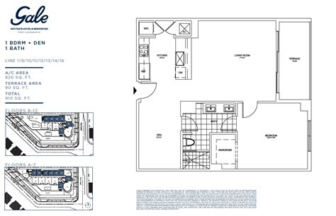 the gale floor plan gale fort lauderdale luxury condo property for sale rent