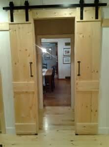 Sliding Barn Doors For Closet Barn Door Closet Sliding Doors Home Design Ideas