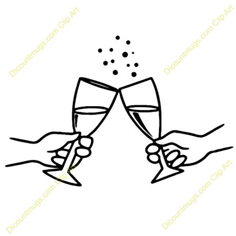Wedding Glasses Clipart by Wedding Wine Glasses Clipart