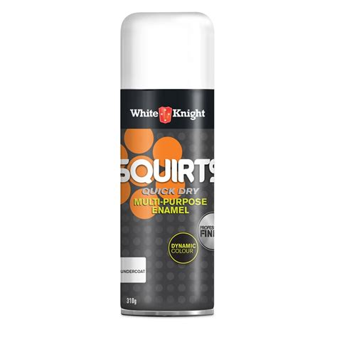 spray paint undercoat white squirts 310g undercoat spray paint bunnings