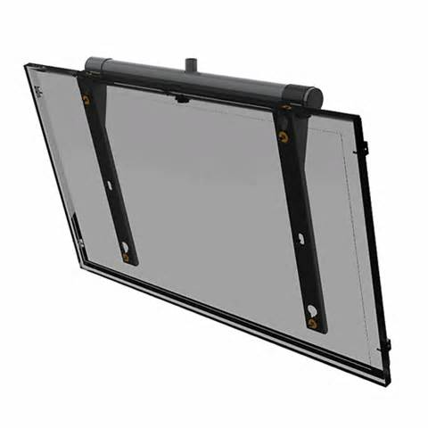 peerless tilt ceiling mount for panasonic th 85pf12u flat