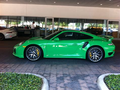 porsche signal green signal green turbo s available at park place porsche