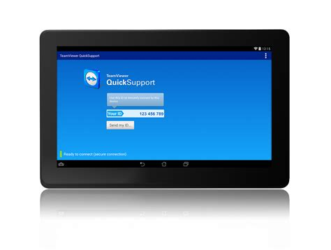 android tablet running teamviewer 174 extends remote support to additional android devices