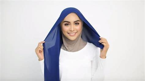 youtube tutorial hijab kondangan cara mudah gunakan khimar model modern untuk kondangan