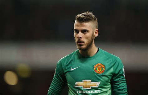 Di Gea by David De Gea Negotiations Stalled Between United And