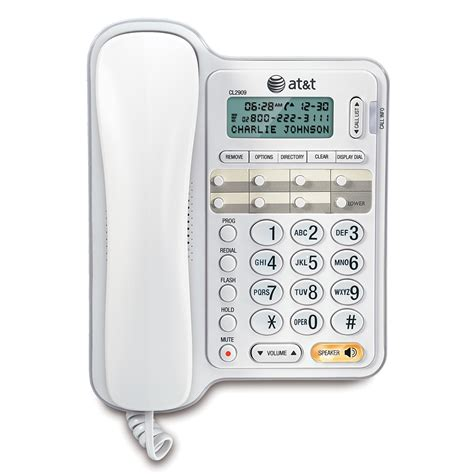Phone Number Caller Id Lookup At T Corded Phones Corded Phone Systems At T