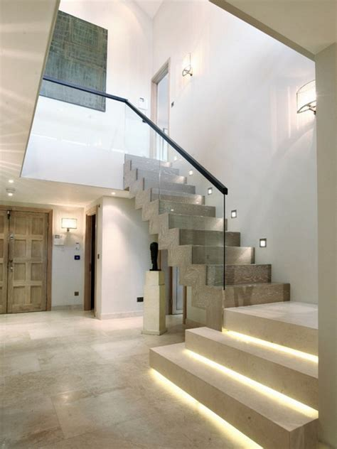 Interior Stair Lighting Ideas by Bring Wonderful Stair Lighting Magic And Spells In The