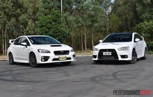Subaru Sti Vs Mitsubishi Evo 2016 Lancer Evo 0 60 2017 2018 Best Cars Reviews
