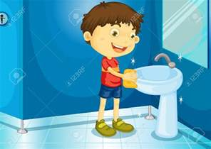 Mirrored Bathroom Vanity Sink - boy cleaning restroom clipart free clipground