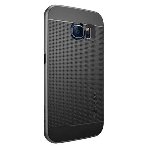 Spigen Samsung Galaxy S6 S6 Edge spigen 174 neo hybrid sgp11422 samsung galaxy s6 edge gunmetal spaceboy