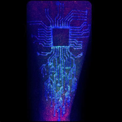 uv tattoo designs uv ink glow in the circuit board tattoos on arm