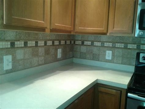 Matching Backsplash To Countertop by What Color Granite Countertop To Match Kitchen And Backsplash