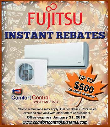 comfort control systems cooling specials in green bay wi