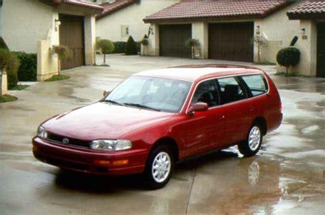 1996 Toyota Camry Wagon 1992 1996 Toyota Camry Third 3rd Generation Toyota