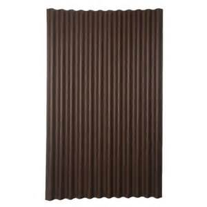 home depot corrugated plastic roofing ondura 6 ft 7 in x 4 ft asphalt corrugated roof panel