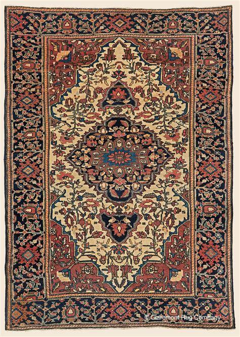 vintage rug company ferahan sarouk west central antique rug claremont rug company