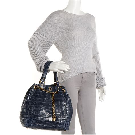 Yves Laurent Faubourg Tote by Ysl Yves Laurent Alligator Overseas Faubourg Tote