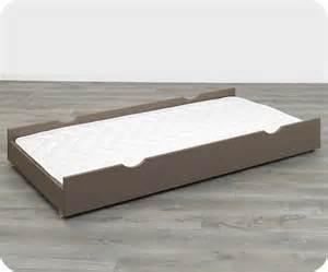tiroir lit enfant nature taupe 90 x 190 cm ma chambre d