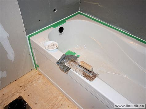 chapter 14 installing the ceramic tile tub surround