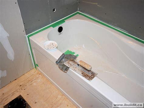 installing tile around bathtub installing the ceramic tile tub surround my old house