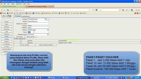 mikrotik v 6 6 hotspot with user manager ip public 009 setting user manager dan voucher hotspot mikrotik versi 5