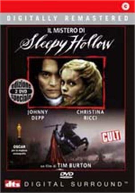 misteri film frankenweenie mistero di sleepy hollow il edizione speciale