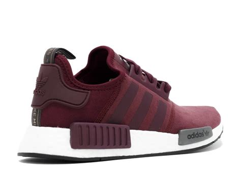 Adidas Nmd R1 Maroon Suede S75231 Authentic Original s adidas nmd suede quot wine burgundy quot wine burgundy white s75231 reviews nmdprimeknit