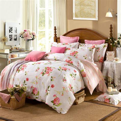 beige twin comforter set bedding set 4pc cotton duvet cover set beautiful flowers